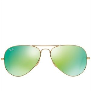 Rayban aviator large mirror sunglasses 58mm bb3025